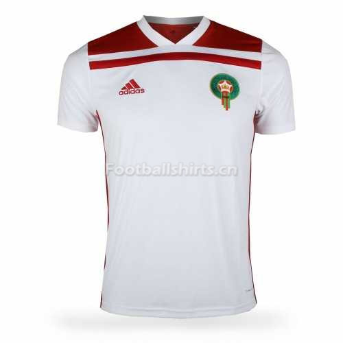 Morocco Fifa World Cup 2018 Away Soccer Jersey