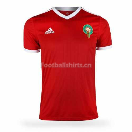 Morocco Fifa World Cup 2018 Home Soccer Jersey