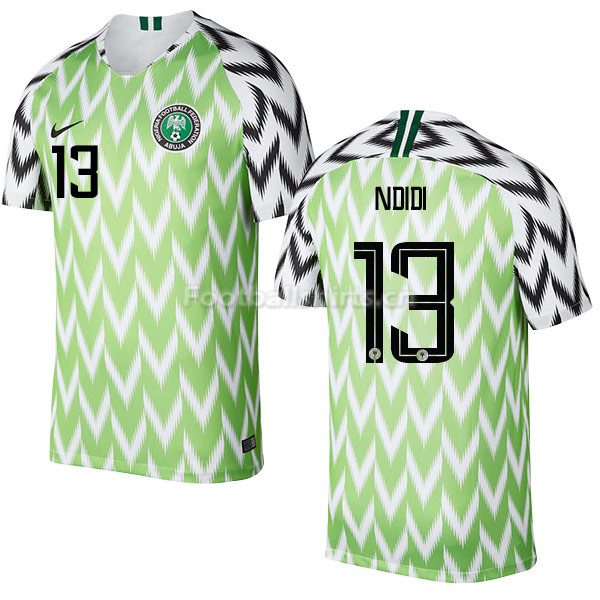 Nigeria Fifa World Cup 2018 Home Wilfred Ndidi 13 Soccer Jersey