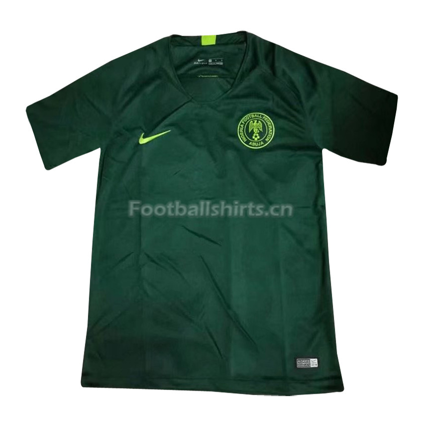 Nigeria Fifa World Cup 2018 Away Soccer Jersey