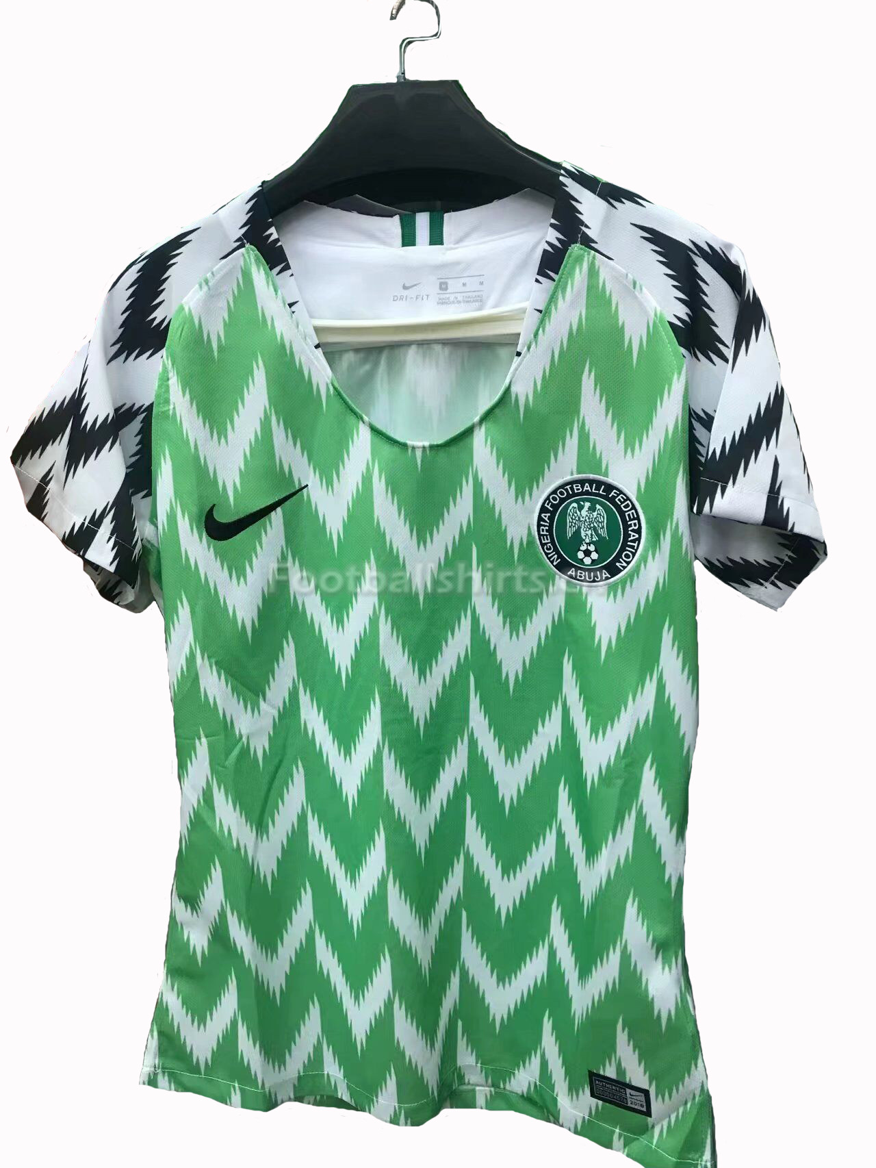 Nigeria Fifa World Cup 2018 Home Women's Soccer Jersey
