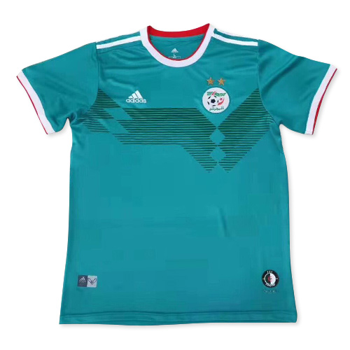 Algeria Away Soccer Jersey Player Version 2 Stars 2019