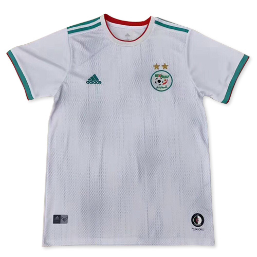 Algeria Home Soccer Jersey Player Version 2 Stars 2019