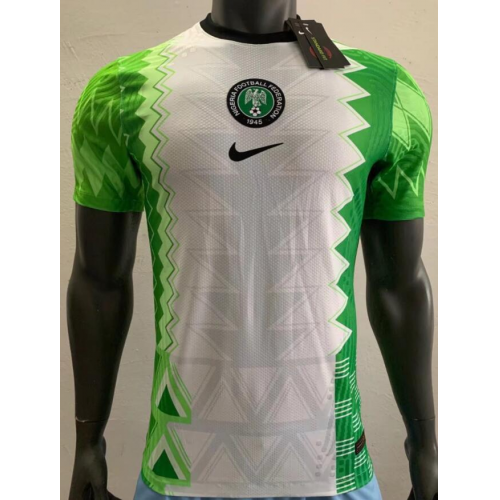 Nigeria Home Soccer Jersey Player Version 2020