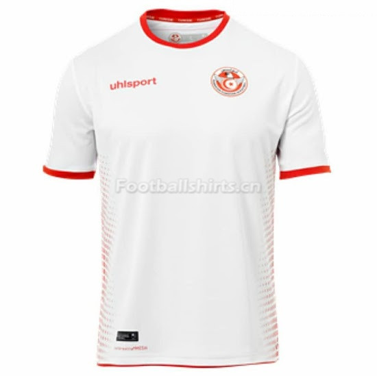 Tunisia Fifa World Cup 2018 Home Soccer Jersey
