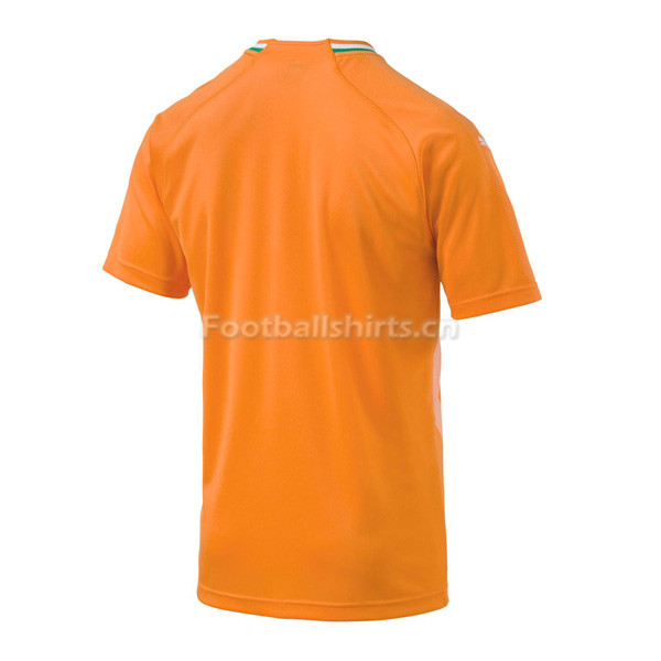 Ivory Coast 2018 World Cup Home Soccer Jersey