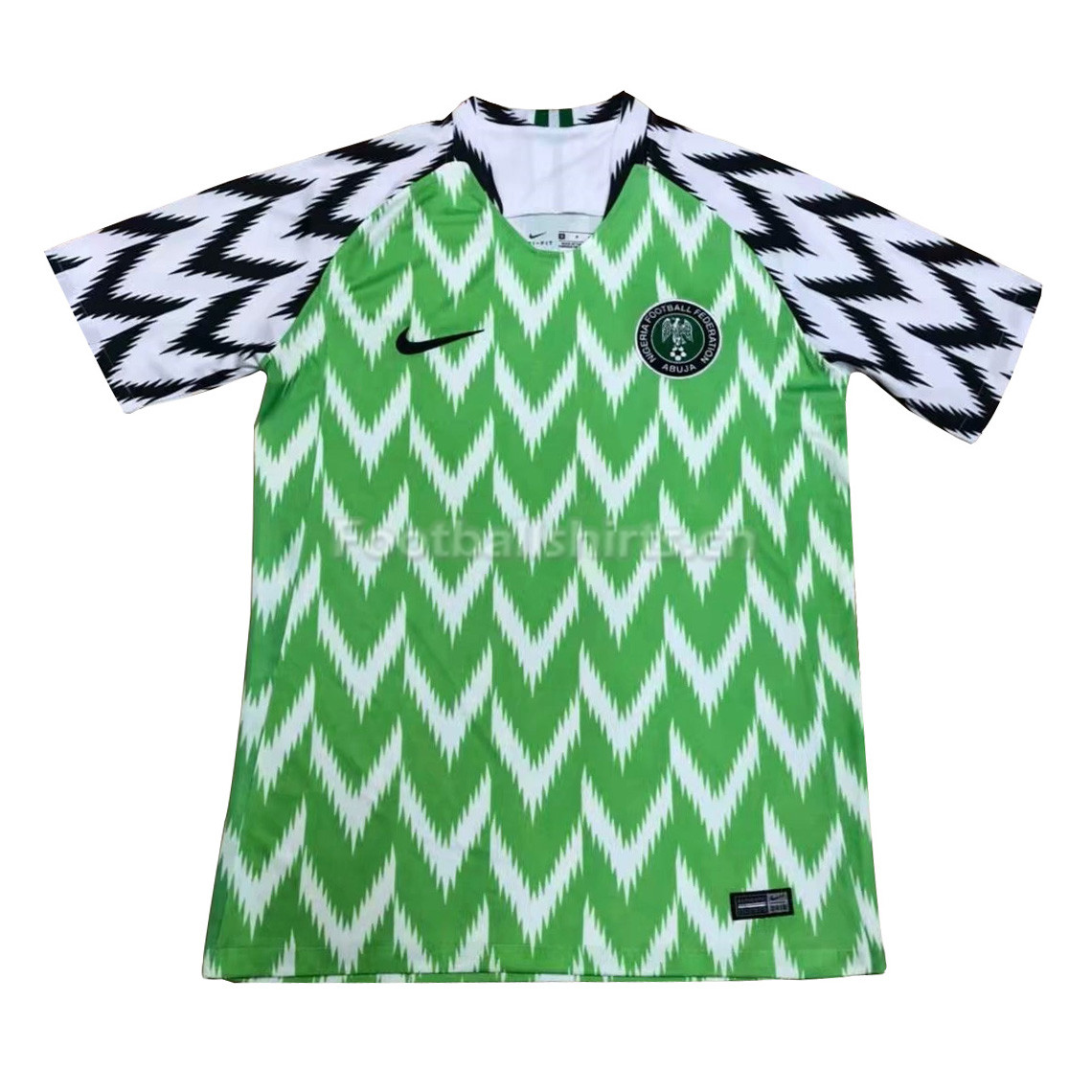 Nigeria Fifa World Cup 2018 Home Soccer Jersey