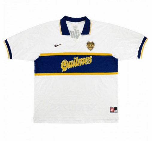 Retro Boca Juniors Away Soccer Jersey 97/98