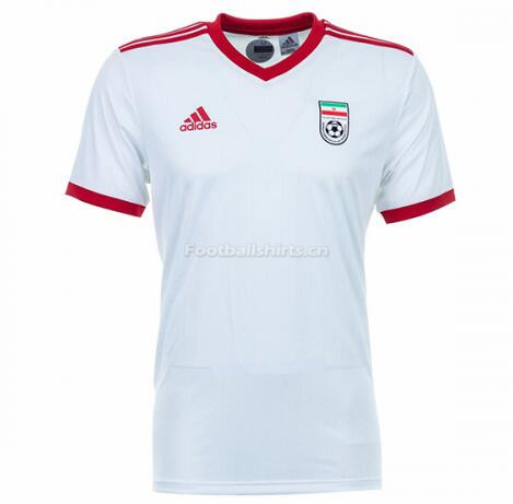 Iran 2018 World Cup Home Soccer Jersey