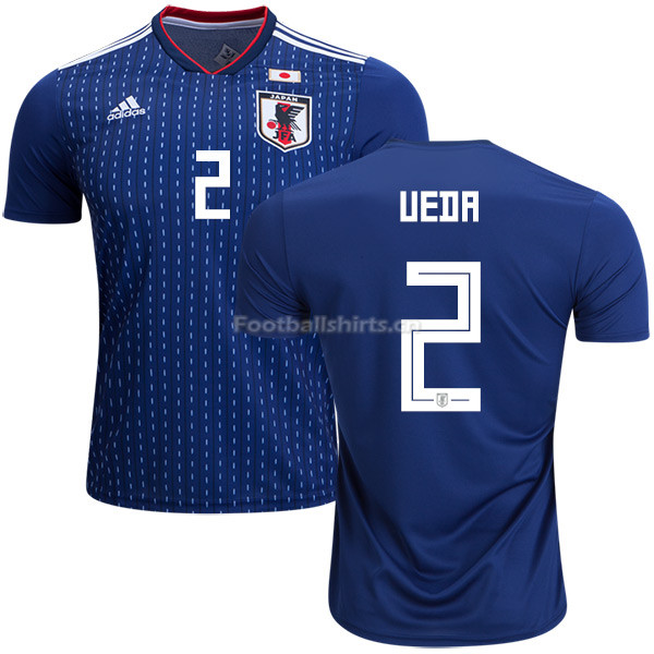 Japan 2018 World Cup NAOMICHI UEDA 2 Home Soccer Jersey