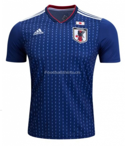 Japan 2018 World Cup Home Soccer Jersey