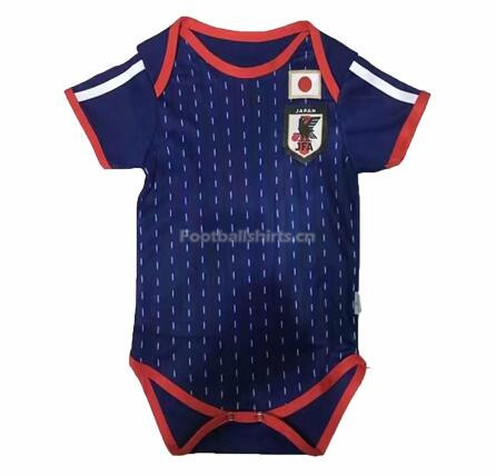 Japan 2018 World Cup Home Infant Soccer Jersey Baby Suit