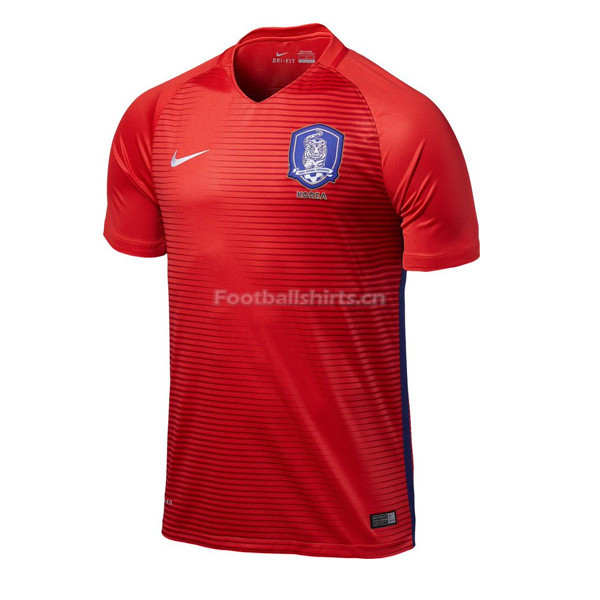South Korea Home Soccer Jersey 2017/18