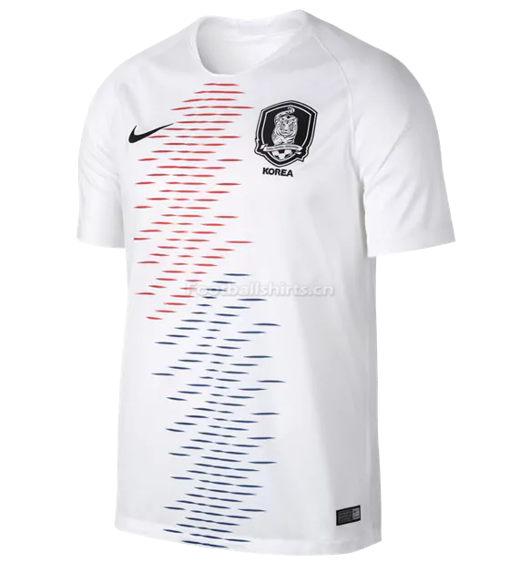 South Korea 2018 World Cup Away Soccer Jersey