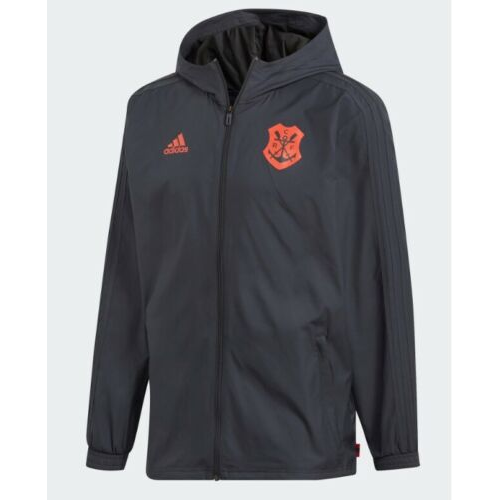 Flamengo Training Jacket Black Red Windbreaker 2019/20