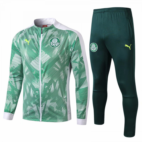 Palmeiras Training Jacket Suits White Green 2019/20