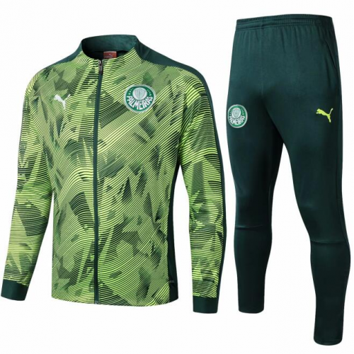 Palmeiras Training Jacket Suits Yellow Green 2019/20