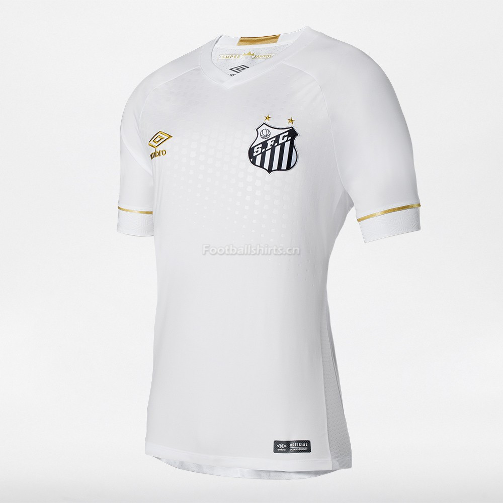 Santos FC Home Soccer Jersey 2018/19