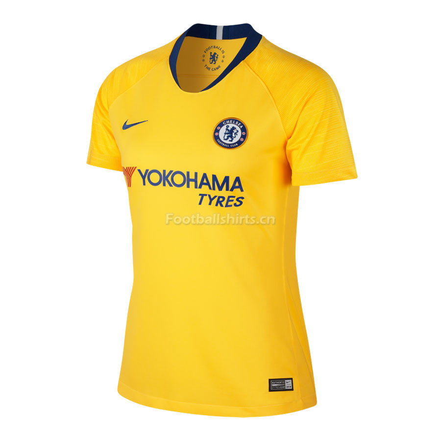 Chelsea Away Women's Soccer Shirt Jersey 2018/19