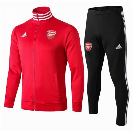 Arsenal Training Jacket Suits Red White 2019/20