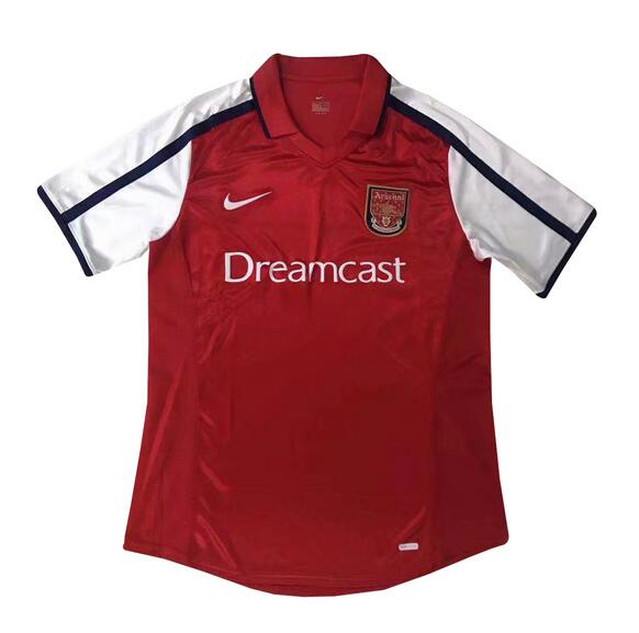 Retro Arsenal Home Soccer Jersey 2000