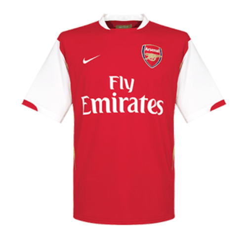 Retro Arsenal Home Soccer Jersey 2006/2007