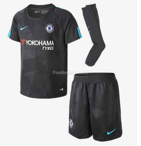 Chelsea Third Soccer Jersey Kits (Shirt+Shorts+Socks) 2017/18