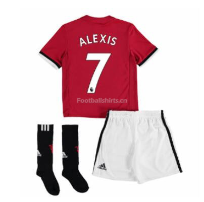 Kids Manchester United Home Soccer Whole Kit Alexis Sánchez (Shi