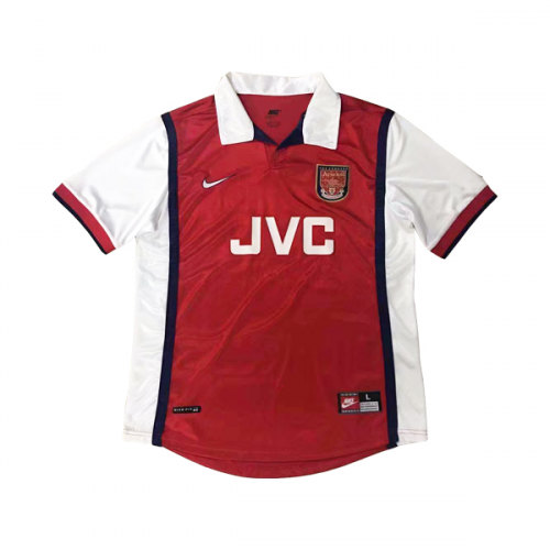 Retro Arsenal Home Soccer Jersey 1998