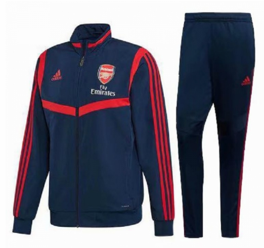 Arsenal Training Jacket Suits Navy Red 2019/20