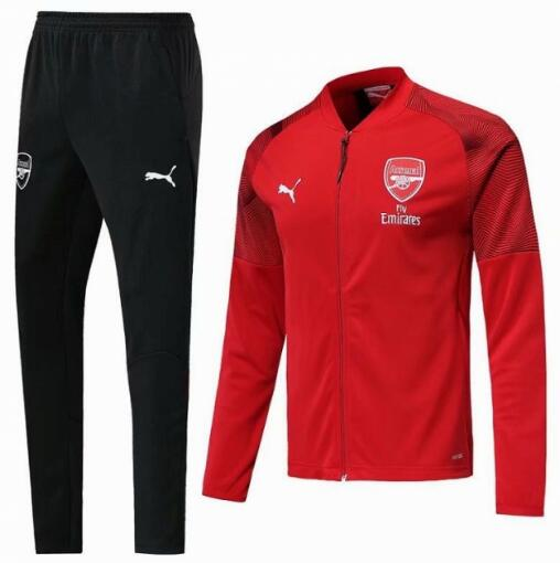 Arsenal Training Jacket Suits Red Black 2019/20