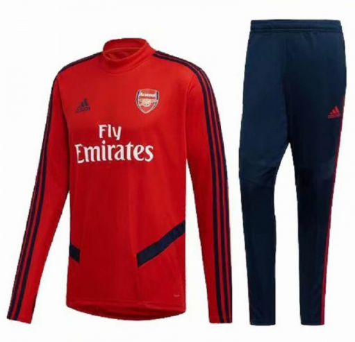 Arsenal Training Top Suits Red Navy 2019/20