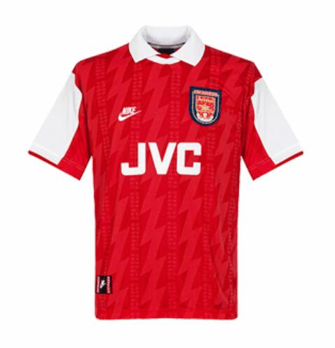 Retro Arsenal Home Soccer Jersey 1994