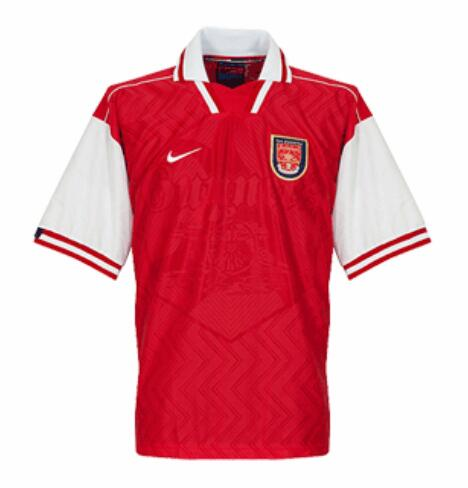 Retro Arsenal Home Soccer Jersey 1996/1998