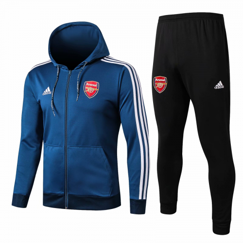 Arsenal Training Hoodie Jacket Suits Blue 2019/20