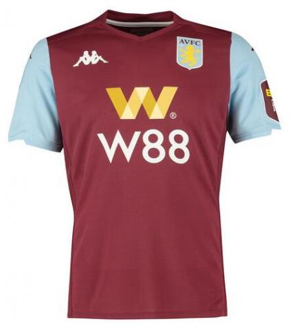 Aston Villa Home Soccer Jersey Player Version 2019/20