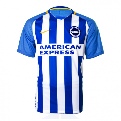 Brighton & Hove Albion Home Soccer Shirt Jersey 2017/18
