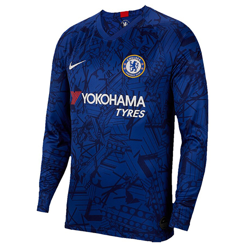 Chelsea Home Soccer Jersey Long Sleeve 2019/20