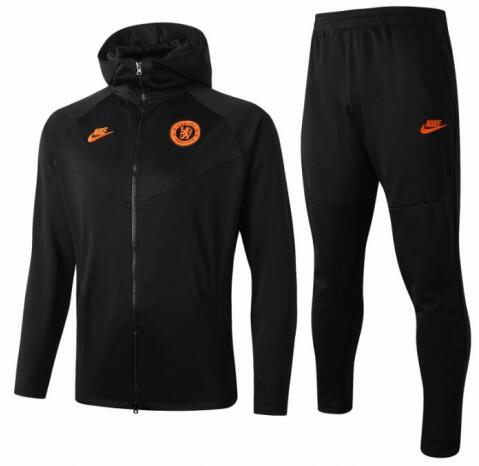 Chelsea Hoodie Jacket Suits Black 2019/20