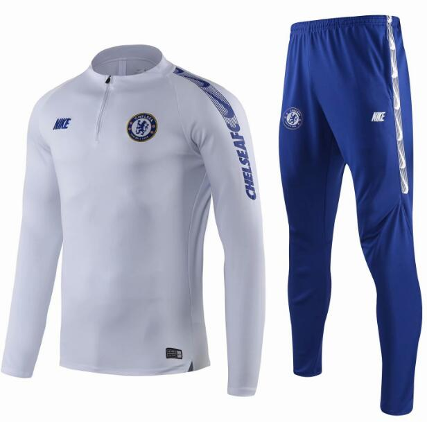 Chelsea Training Top Suits White 2019/20