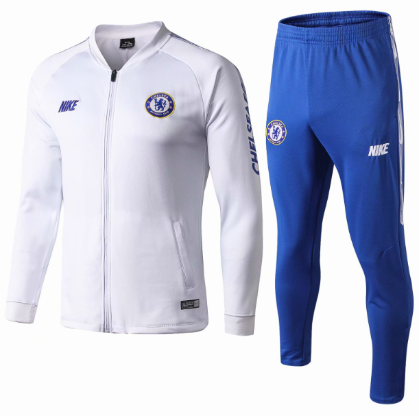 Chelsea Training Jacket Suits White 2019/20