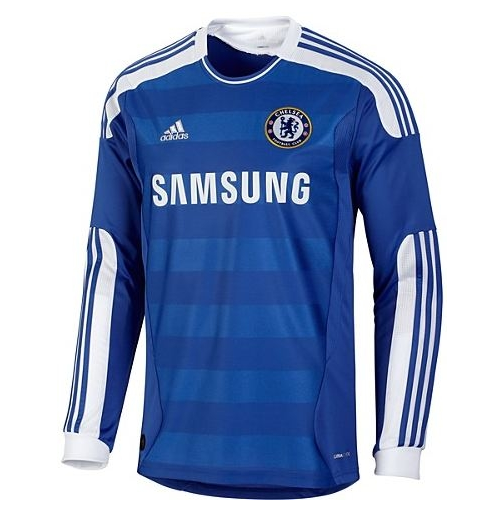 Retro Chelsea Away Soccer Jersey Long Sleeve 2011/2012
