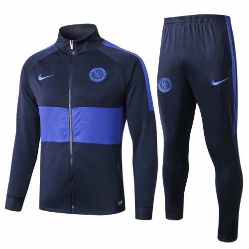 Chelsea Training Jacket Suits Navy Blue 2019/20