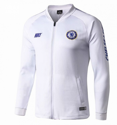Chelsea Training Jacket White 2019/20