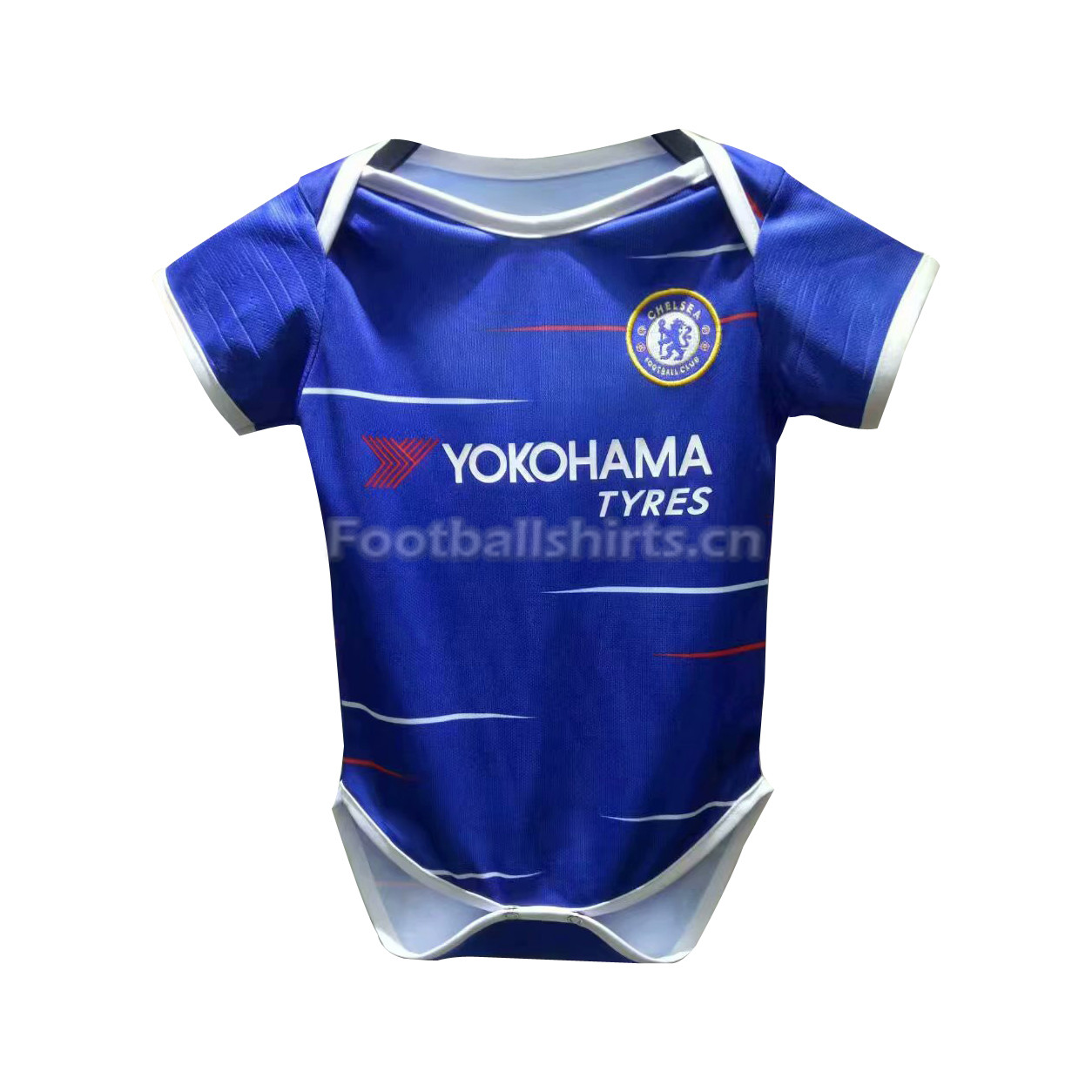 Chelsea Home Infant Soccer Jersey Suit 2018/19