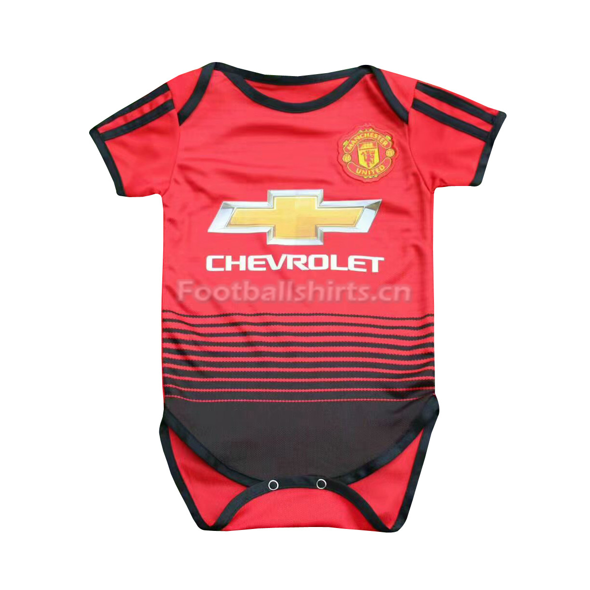 Manchester United Home Infant Soccer Jersey Suit 2018/19