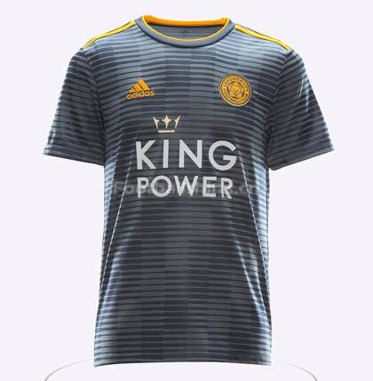 Leicester City Away Soccer Jersey 2018/19