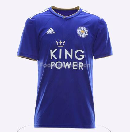 Leicester City Home Soccer Jersey 2018/19