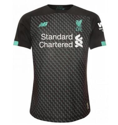 Liverpool 3rd Away Soccer Jersey Player Version 2019/20
