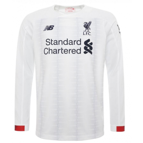 Liverpool Away Soccer Jersey Long Sleeve 2019/20